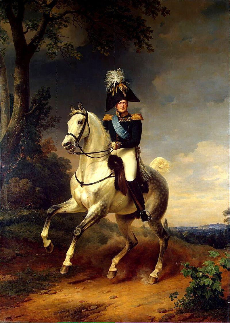 Aleksandr-I-v-1814-godu-pod-Parizhem